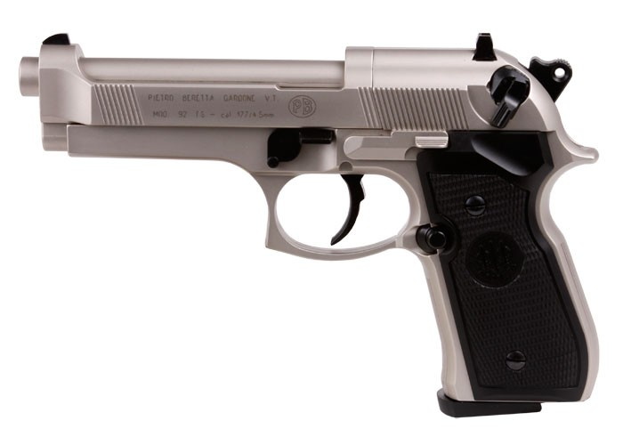 Beretta 92FS, Nickel.