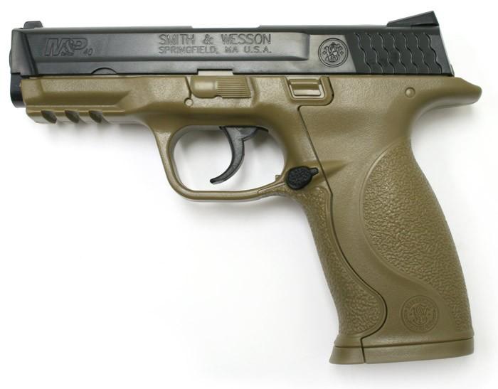 Cheap Smith & Wesson M&P, Dark Earth Brown 0.177
