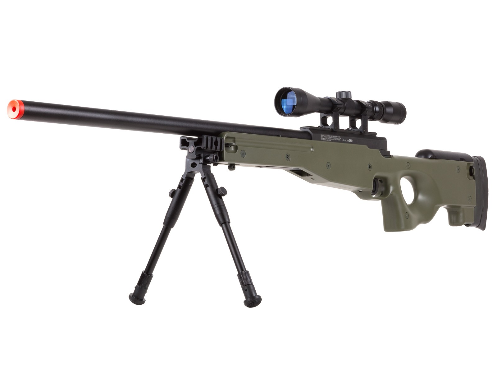 TSD_Tactical_Series_Type_96_Sniper_Green_Rifle_6mm
