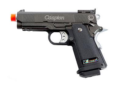Caspian Baby Hi-Capa 3.8 Black Gas Pistol