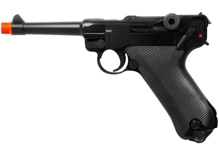 WE P08 Metal Gas 4 inch barrel airsoft pistol