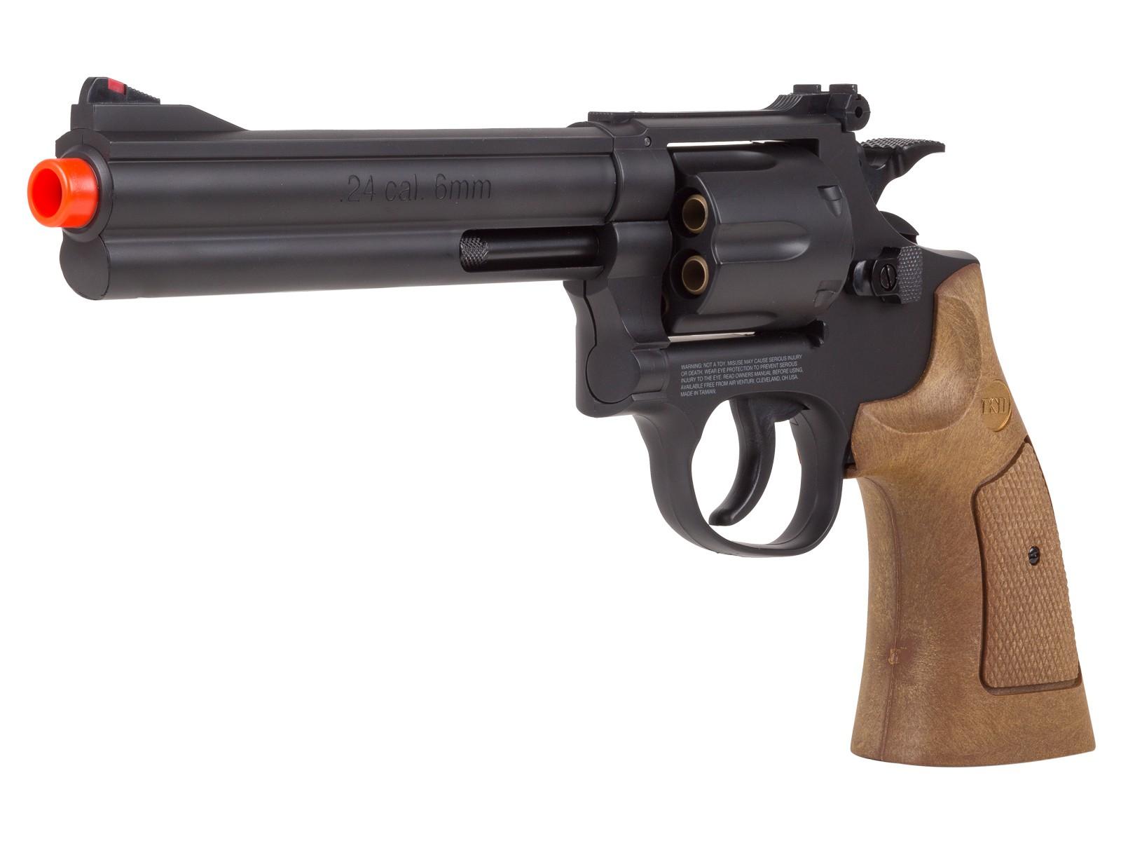TSD_Sports_Spring_Revolver__6_Barrel_BlackBrown_6mm