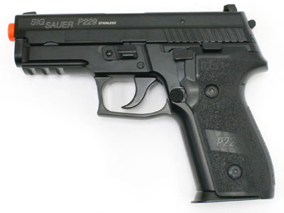 SIG Sauer P229 Full Metal Blow Back Gas Pistol