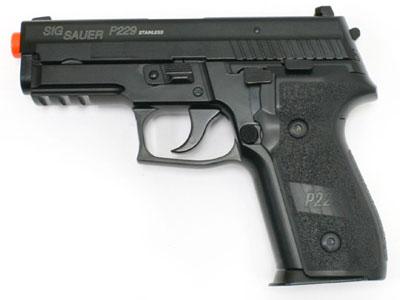 SIG Sauer P229 Full Metal Blow Back Gas Pistol