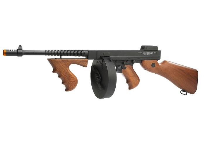 Thompson M1928 Full-Metal Airsoft Submachine Gun 6mm