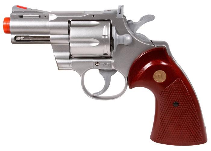 939 UHC 2.5 inch barrel revolver, Silver