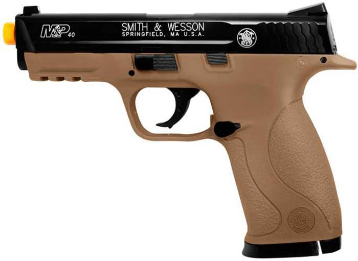 Smith & Wesson M&P 40 Dark Earth Spring Pistol