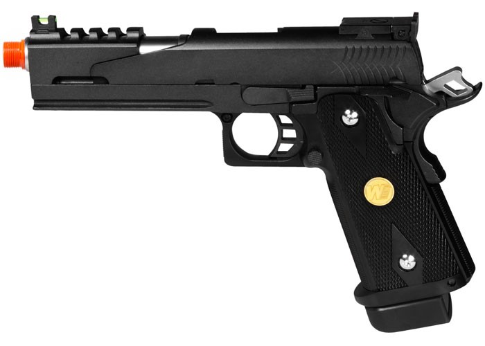 WE Hi-Capa 5.1 Dragon Type B Black Metal Pistol