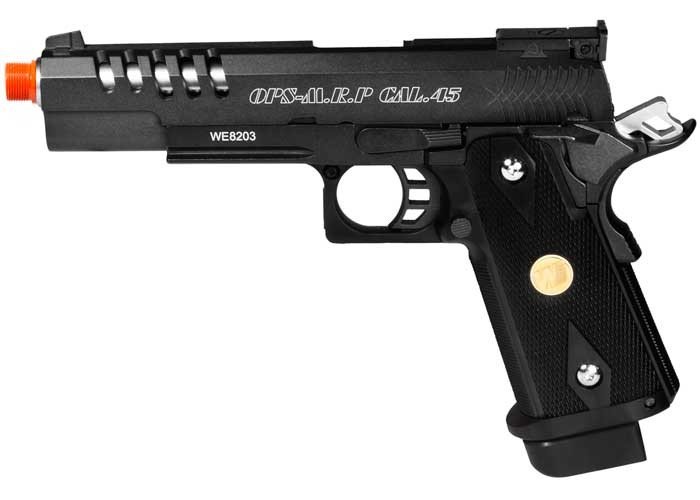 WE Hi-Capa 5.1 K Full Metal Airsoft Gas Pistol
