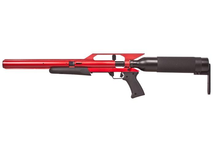 AirForce Talon SS PCP Air Rifle, Spin-Loc, Red