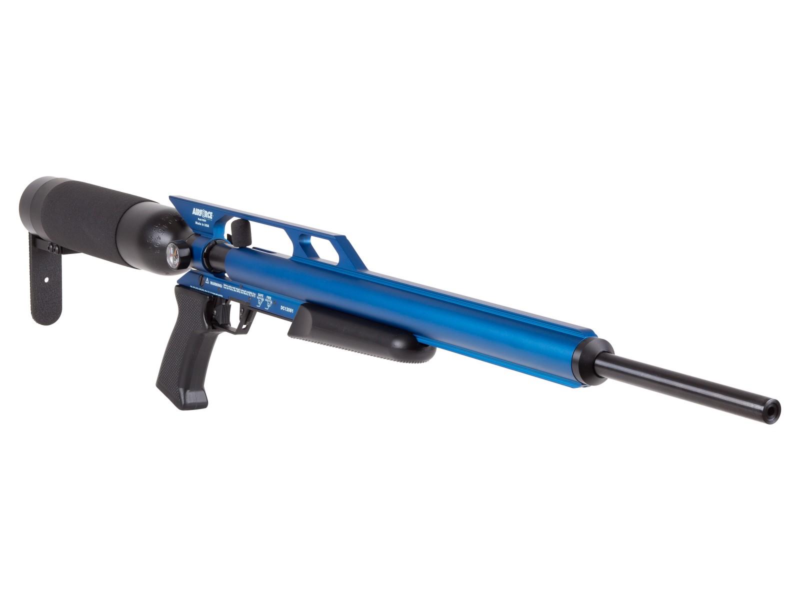 Cheap AirForce Condor PCP Air Rifle, Spin-Loc Tank, Blue 0.22