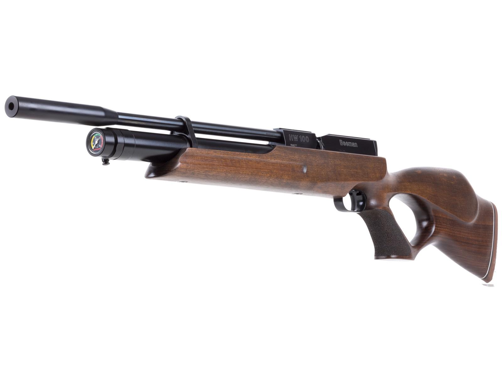 Cheap Beeman HW 100 TK PCP Air Rifle, Walnut Thumbhole 0.177