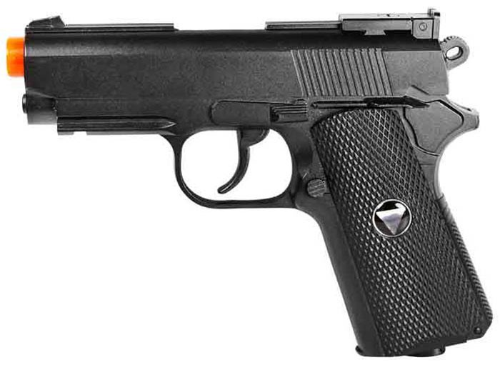 TSD Sports Full Metal M1911 CO2 Pistol, Black. Airsoft guns
