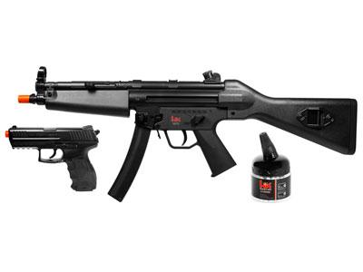 H&K MP5 & P30 Holiday Kit Black