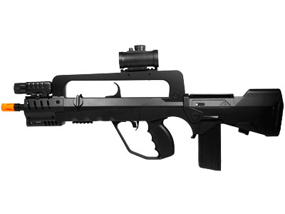Famas Tactical Black Spring Airsoft Rifle