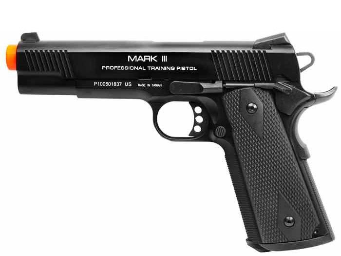 KWA M1911 MKIII PTP Blowback, Metal Gas Pistol