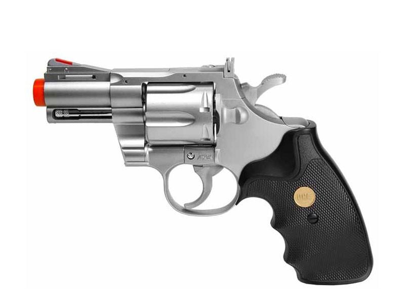 TSD UHC 939 2.5 inch barrel revolver, Silver/Black