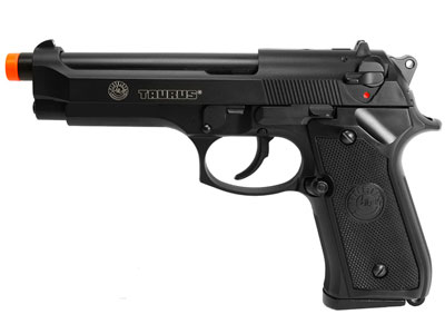 Taurus PT 92 Blowback Green Gas Pistol, Black