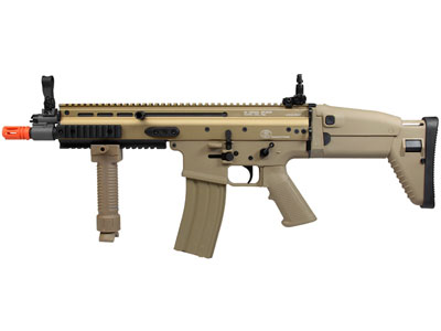 FN Herstal SCAR-L CQB AEG, Tan