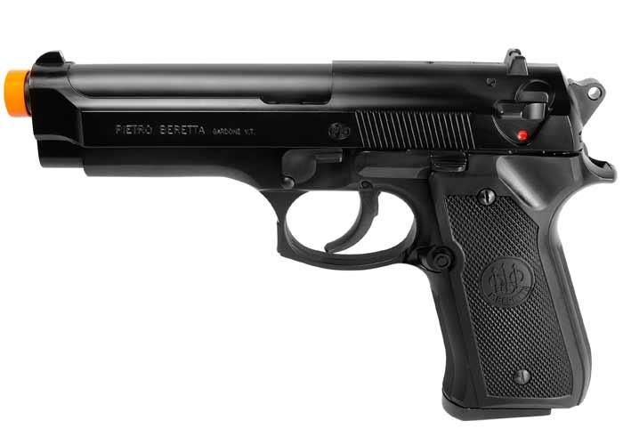 Beretta 92 FS Spring Airsoft Pistol, Black