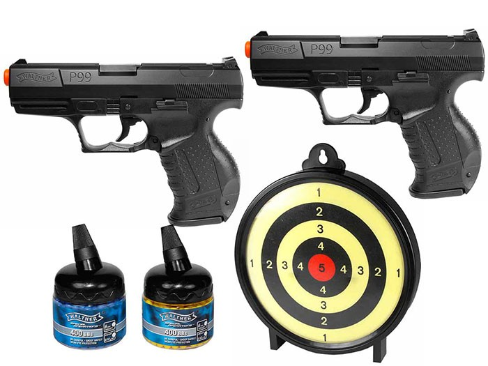 Walther P99 Dueler Spring Target Kit