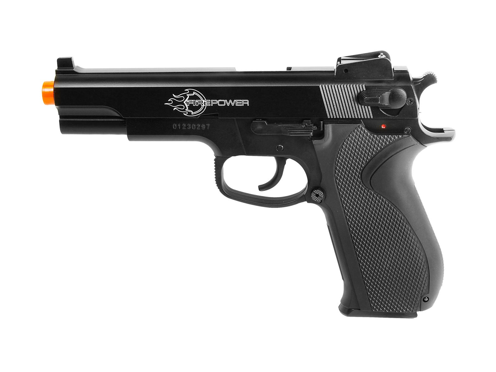 Firepower .45 Spring Airsoft Pistol, Metal Slide 6mm Image