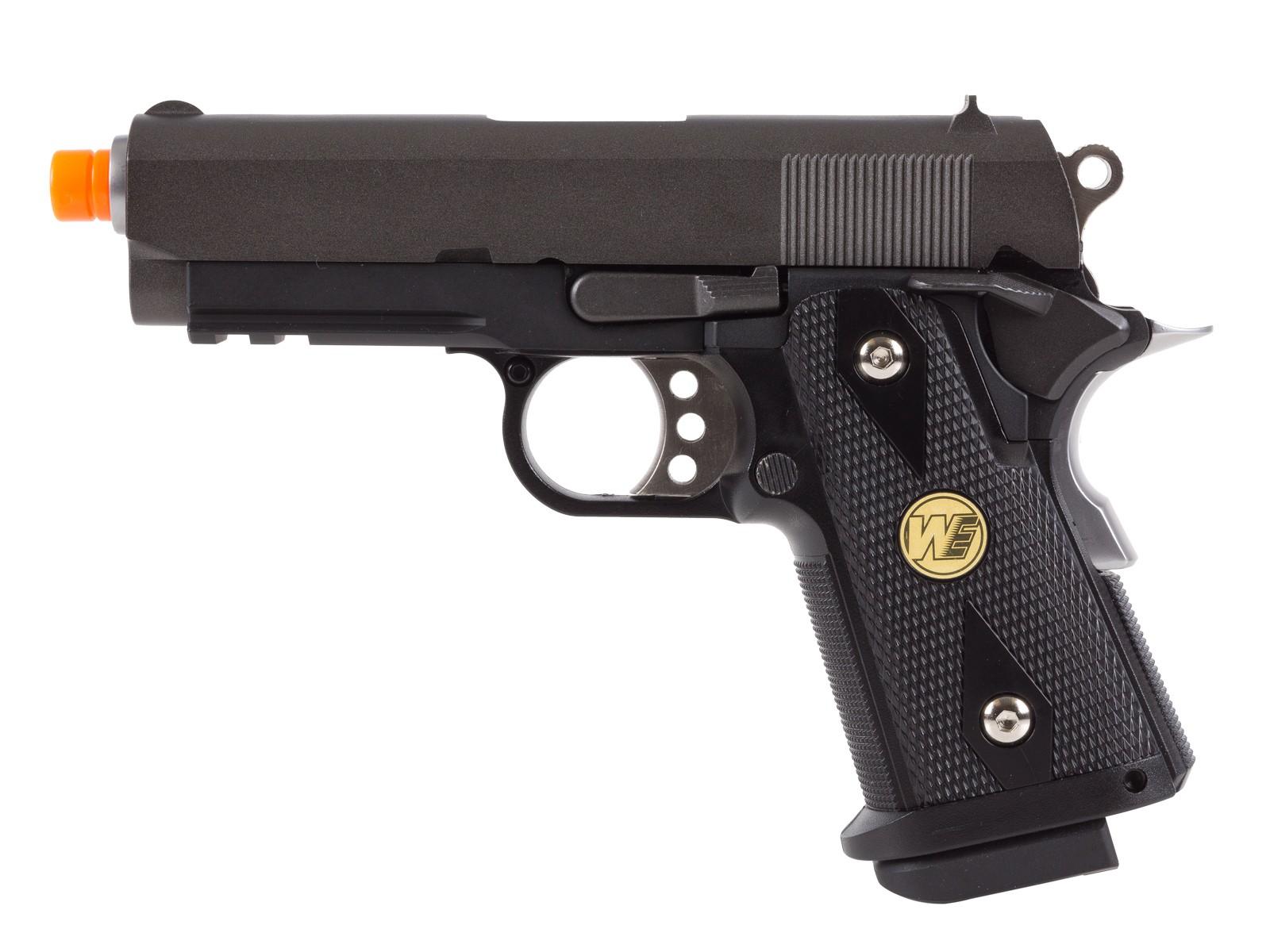WE Baby Hi-Capa 3.8 Airsoft Pistol, Black