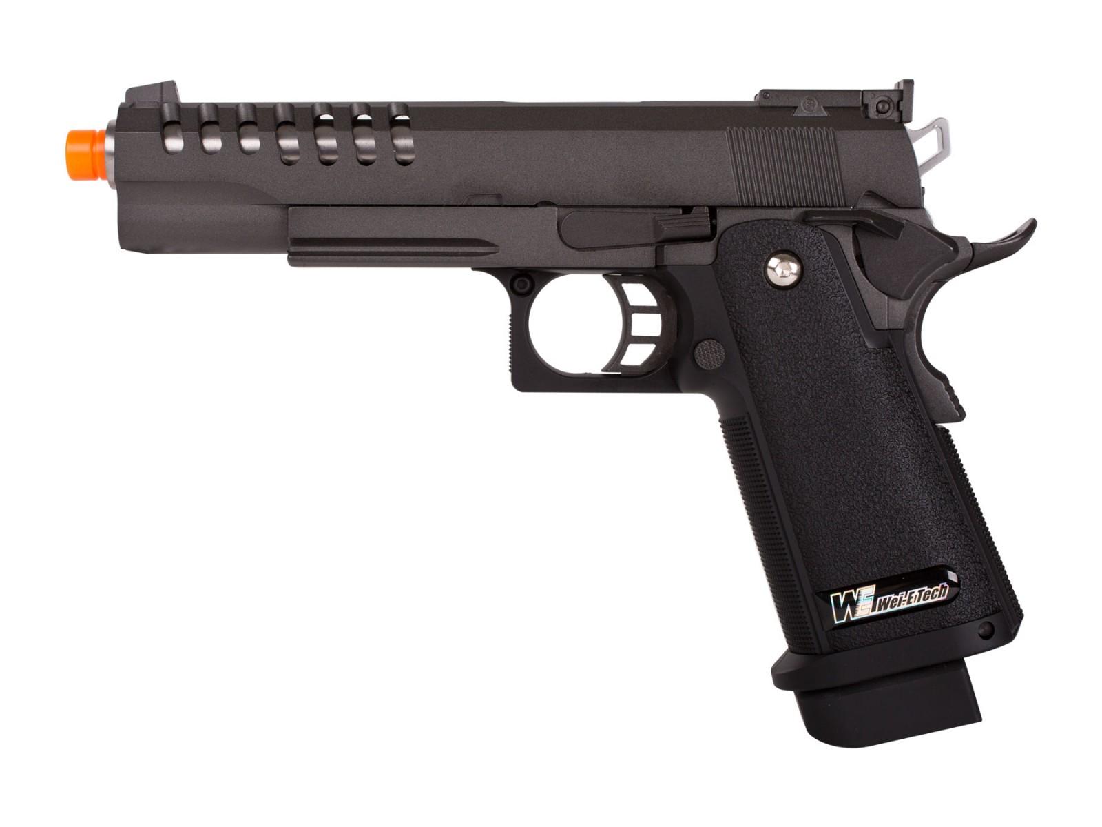 WE Hi-Capa 5.1 K1 Gas Blowback Airsoft Pistol 6mm Image