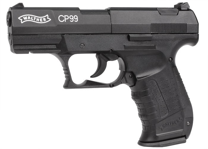 Walther CP99 CO2 Gun, Black