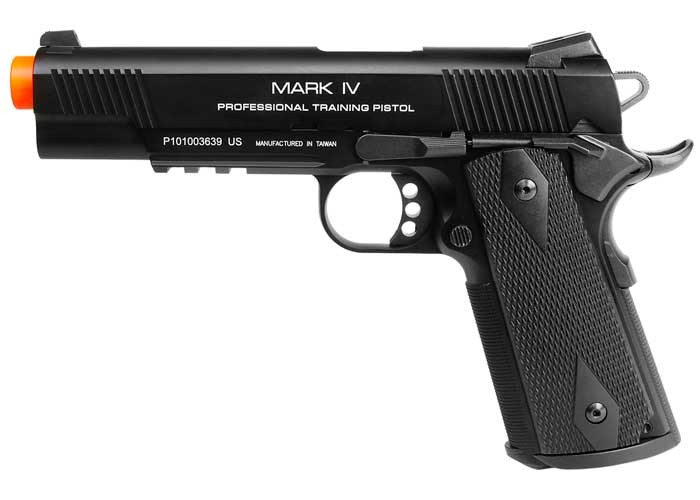 KWA M1911 MKIV PTP Blowback Airsoft Pistol. Airsoft guns