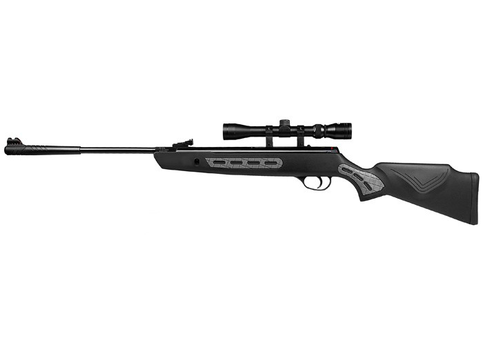 Hatsan 1000S Striker Combo Air Rifle, Black