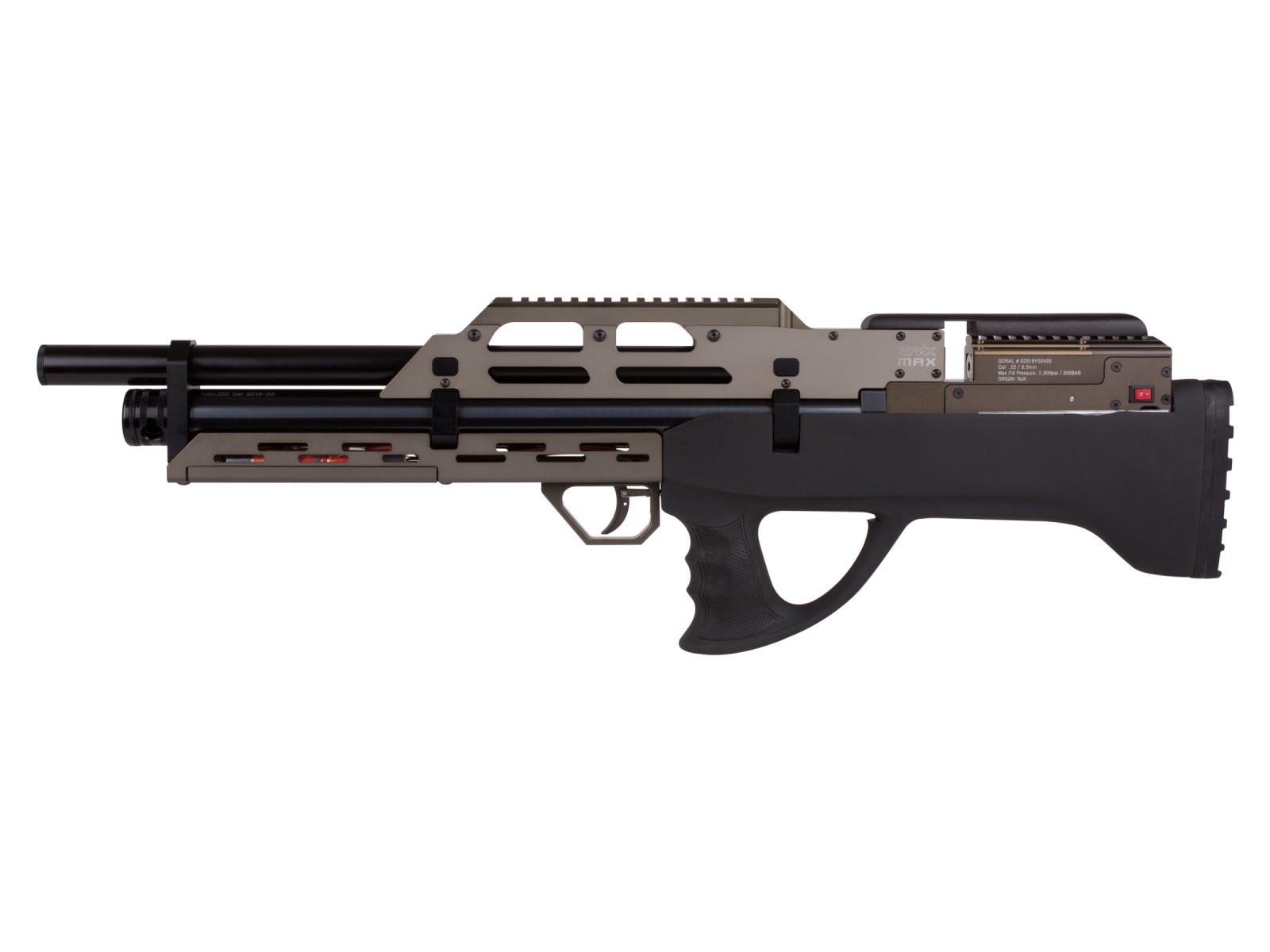 Evanix Conquest Semi Full Auto Pcp: Evanix Full Auto Air Rifle