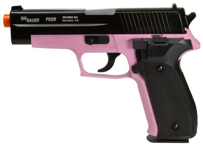 SIG_Sauer_P226_Airsoft_Pistol_PinkBlack_6mm
