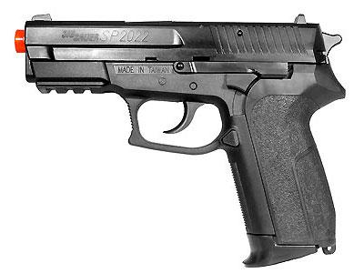 SIG Sauer SP2022 CO2 Airsoft Pistol, Metal Slide