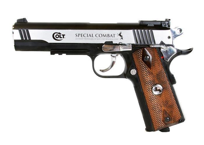 Cheap Colt 1911 Special Combat Classic BB Pistol 0.177