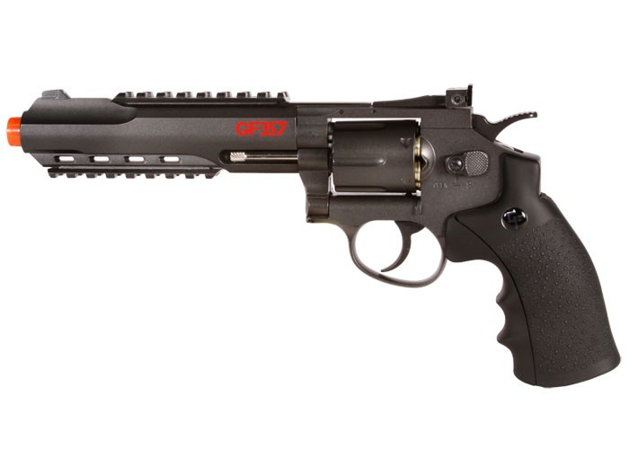Game Face / WinGun GF357 CO2 Metal Airsoft Revolver