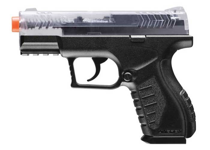 Combat Zone Enforcer Airsoft Pistol, Clear