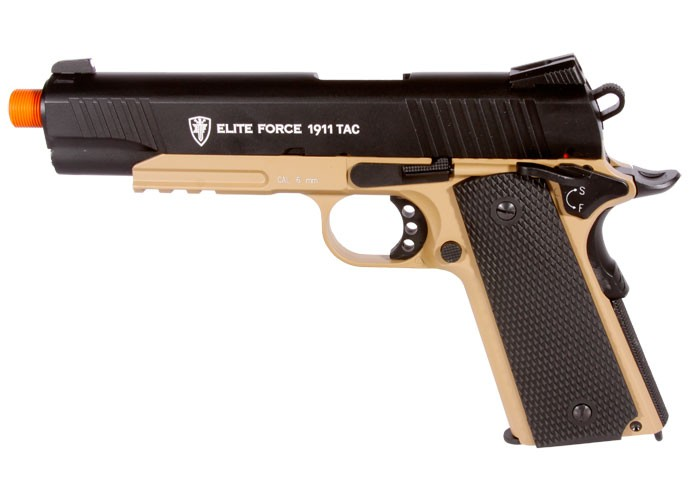 Elite Force 1911 TAC CO2 Metal Airsoft Pistol