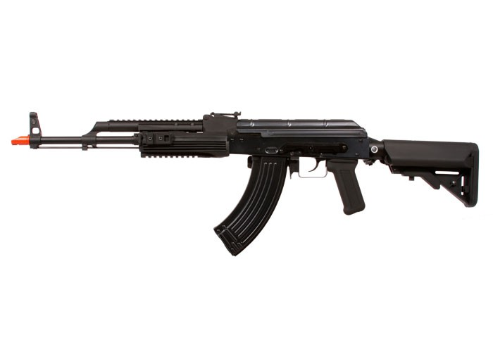 WE AK74 PMC Full Metal Gas Blowback Airsoft Rifle