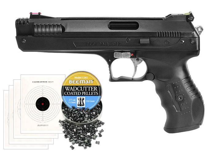 Beeman Sweet 17 Bundle (Beeman P17 Air Pistol)