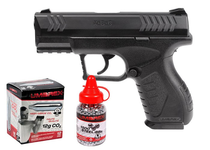 XBG Plinker Pack (Umarex CO2 BB Pistol) 0.177