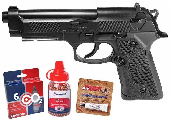 Beretta Elite II Pro Bundle BB Pistol 0.177