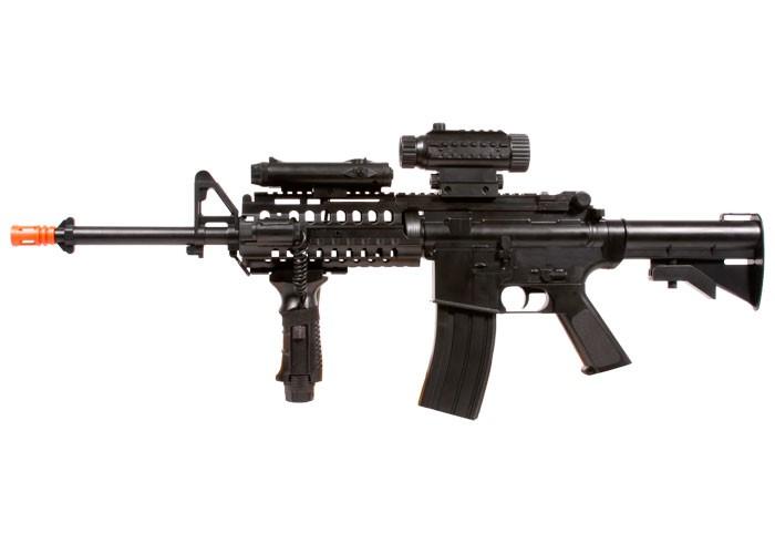 Firepower_F4D_FullAutomatic_AEG_Airsoft_Rifle_6mm