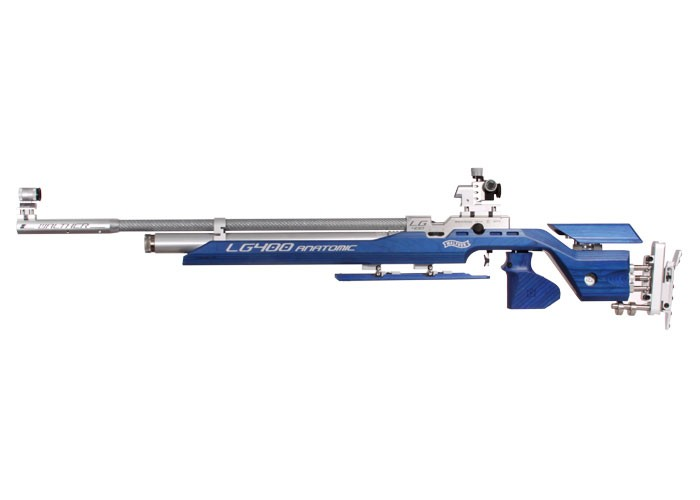 Walther LG400 Anatomic Expert Air Rifle, RH Grip 0.177
