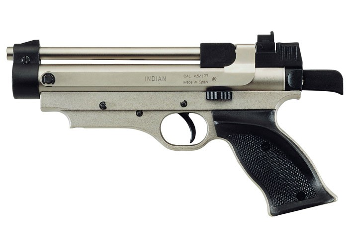 Cheap Cometa Indian Air Pistol, Nickel 0.177
