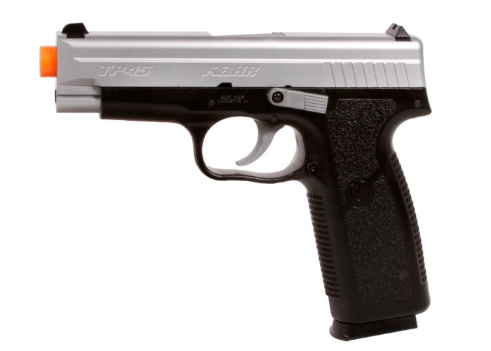 Kahr Arms TP45 Spring Airsoft Black/Silver Pistol