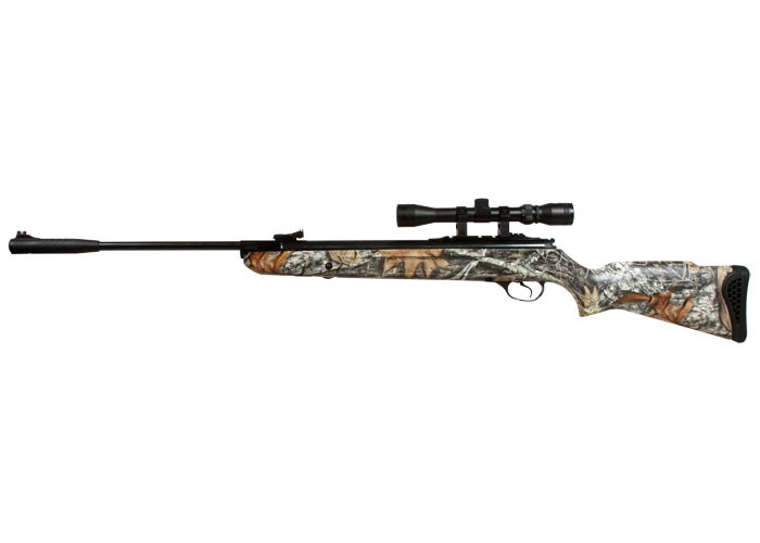 Hatsan 125 Air Rifle, Camo Stock, Vortex Piston