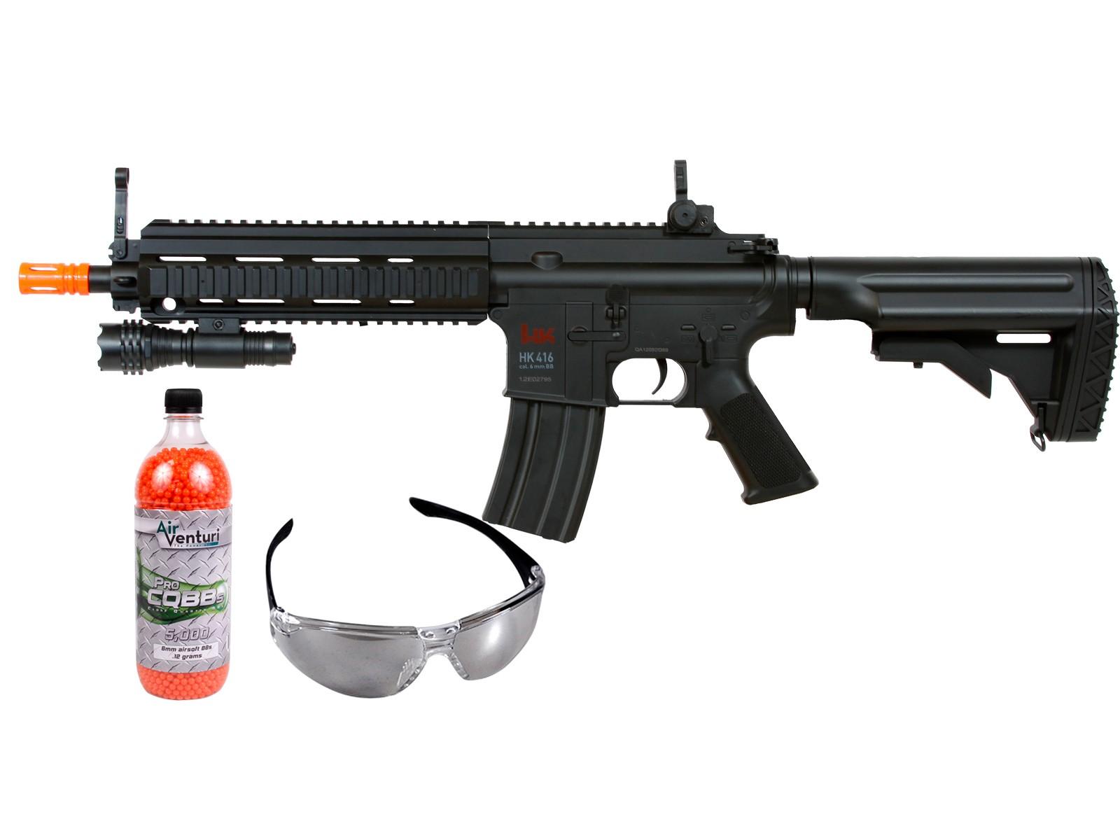 H&K_416_AEG_Tactical_Airsoft_Rifle_Kit_Black_6mm
