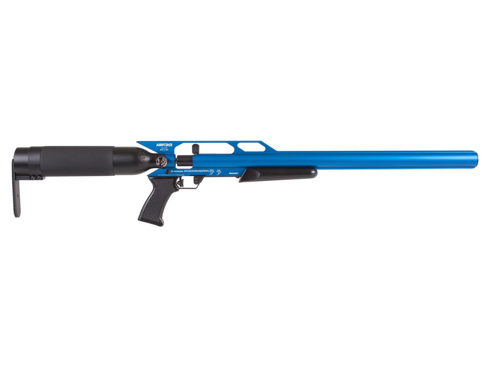 AirForce Condor SS PCP Air Rifle, Spin-Loc, Blue 0.20 Image