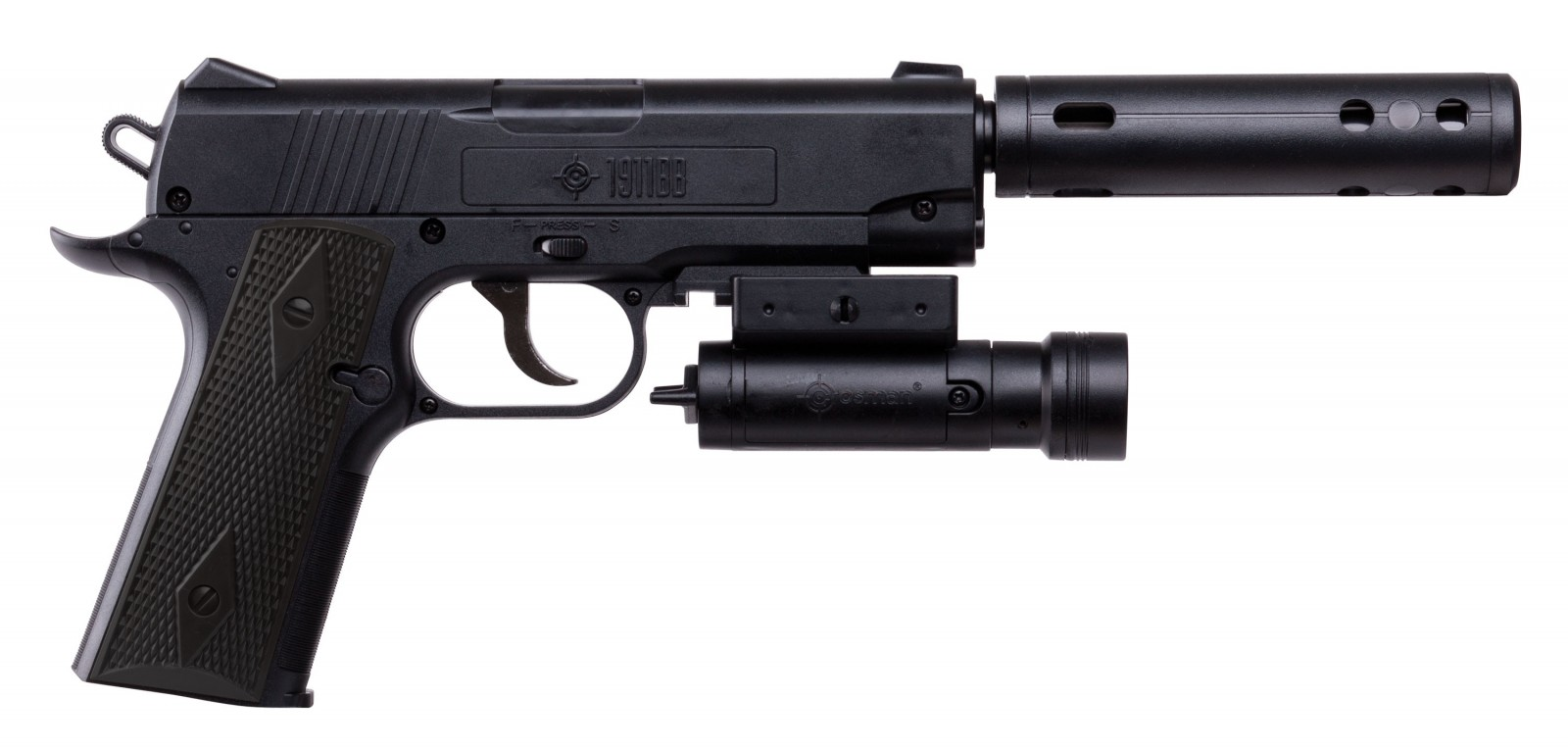Airsoft pistols with silencers — diegamennathe